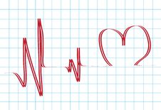 Abstract Heartbeat Stock Images