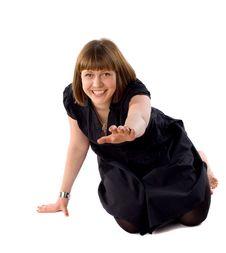 Free Woman Having Fun Royalty Free Stock Images - 14369699