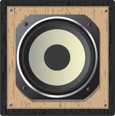 Free Illustration Of  Loudspeaker Stock Photos - 14369843
