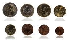 Free Euro Cent Series Stock Photography - 14369942
