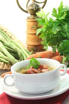 Free Green Bean Stew Royalty Free Stock Photo - 14369985