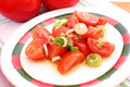 Free Salad Of Tomatoes Royalty Free Stock Images - 14370159