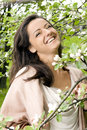 Free Beautiful And Attractive Woman In The Park Royalty Free Stock Image - 14377956