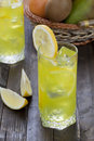 Free Cold Lemon Drink Royalty Free Stock Photos - 14378048