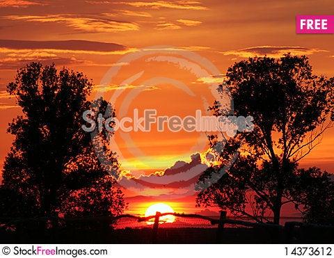 Free Sunset Stock Photography - 14373612