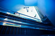 Free Escalator Stock Photography - 14370712
