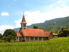Church On Samosir Island Stock Image