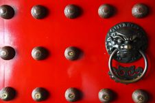 Free Asian Door Knocker Stock Image - 14371921
