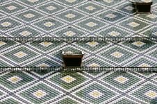 Roof Pattern Royalty Free Stock Image