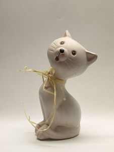 Cat Statue Royalty Free Stock Images