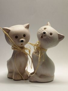 Cat Statue Stock Photography