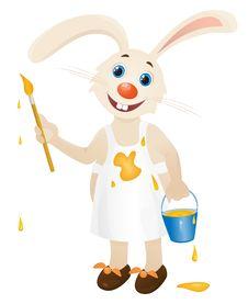 Free Hare Artist Stock Image - 14373501