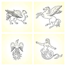 Free Mythological Creatures Royalty Free Stock Images - 14373639