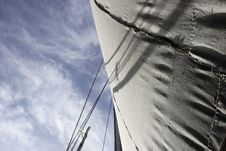 Free Sail And Sky Royalty Free Stock Photo - 14374025