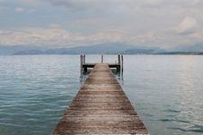 Free A Boardwalk In Lake Garda Stock Photography - 14374432