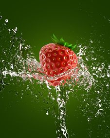 Free Fresh Strawberries Royalty Free Stock Photography - 14374667