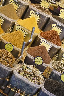 Free Turkey, Istanbul, Spice Bazaar Stock Photo - 14375240