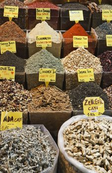 Free Turkey, Istanbul, Spice Bazaar Stock Image - 14375341
