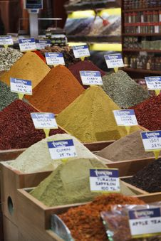 Free Turkey, Istanbul, Spice Bazaar Stock Photos - 14375533