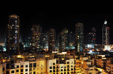 Free City At Night Stock Images - 14375674