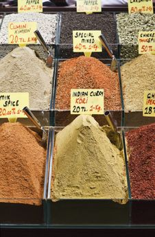 Free Turkey, Istanbul, Spice Bazaar Stock Photo - 14375960