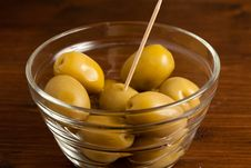 Free Green Olives Stock Photography - 14376252