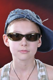Free Portrait Of 10-11 Years Old Boy Stock Image - 14376551