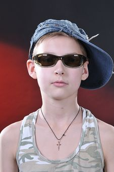Free Portrait Of 10-11 Years Old Boy Royalty Free Stock Photography - 14376567