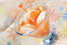 Free Tangerine Cocktail Royalty Free Stock Photo - 14377845