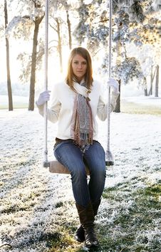 Free Swinging Royalty Free Stock Photo - 14377955