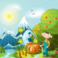 Free Gardener Stock Photo - 14378280