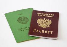 Free The Russian Documents Stock Photos - 14378343