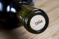 Free Corked Bottle Neck Royalty Free Stock Photos - 14379148