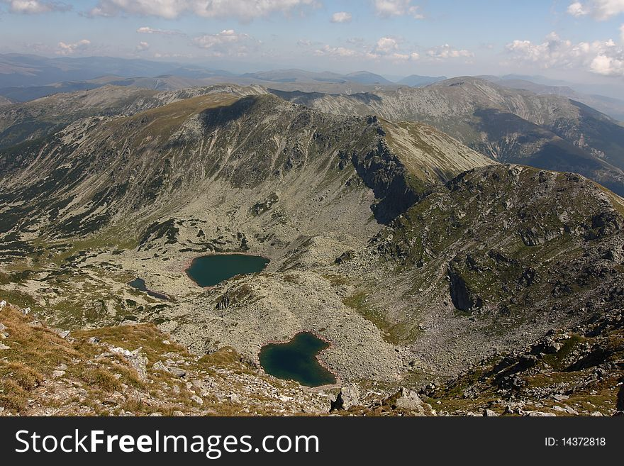 Romania, lakes in Parang mountain