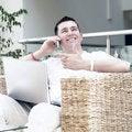 Free Man Working On Laptop Stock Photo - 14383280