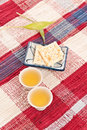 Free Tea And Crackers Royalty Free Stock Images - 14386429
