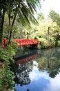 Free Red Bridge Royalty Free Stock Images - 14387179