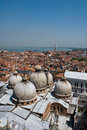 Free Venice Roof Tops Stock Images - 14389124
