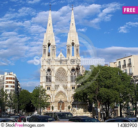St Vincent de Paul church Stock Photo