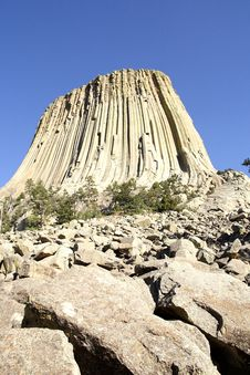 Free Devils Tower NM, Wyoming, USA Royalty Free Stock Photography - 14380327