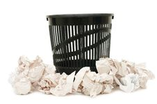 Free Basket For Garbage Stock Photos - 14380383