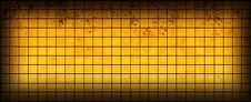 Free Banner Of The Iridescent  Golden  Squares Royalty Free Stock Image - 14381016