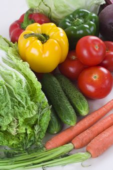 Free Fresh Vegetables Stock Photography - 14381542