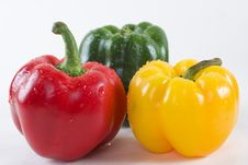 Free Sweet Peppers Royalty Free Stock Photo - 14381705