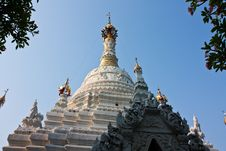 Free A Temple In Chiang Mai Royalty Free Stock Photos - 14381898