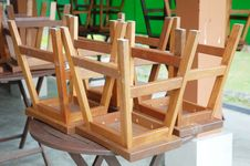 Free Wooden Chair Royalty Free Stock Photos - 14382148