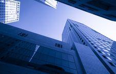 Free High Modern Buildings Royalty Free Stock Photos - 14382638
