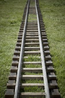 Railroad Tracks Royalty Free Stock Photography