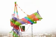 Free The Iridescent Crane Stock Photo - 14383060