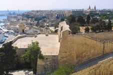 Free Panorama Of Valetta Royalty Free Stock Images - 14383089